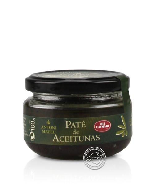 Caimari Pate Artesa d´Oliva negras, 100 g