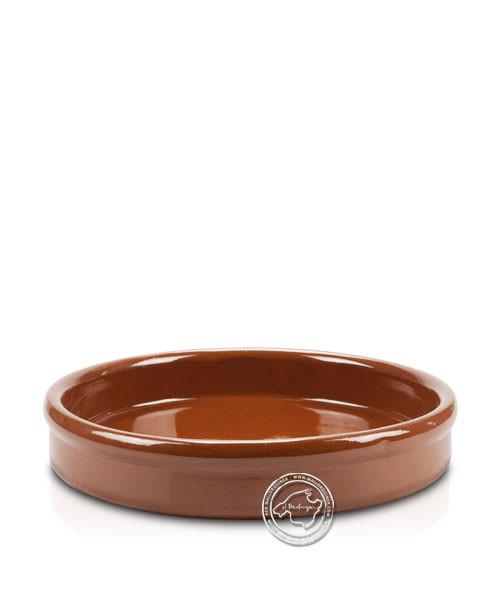 Keramik-Schale flach volllasiert 23 cm, je Stück