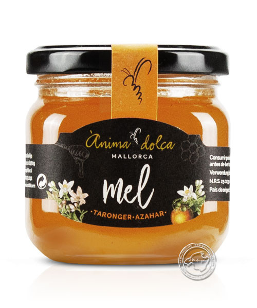 Anima Dolca Mel flor de Taronger, Orangenblütenhonig, 250 g