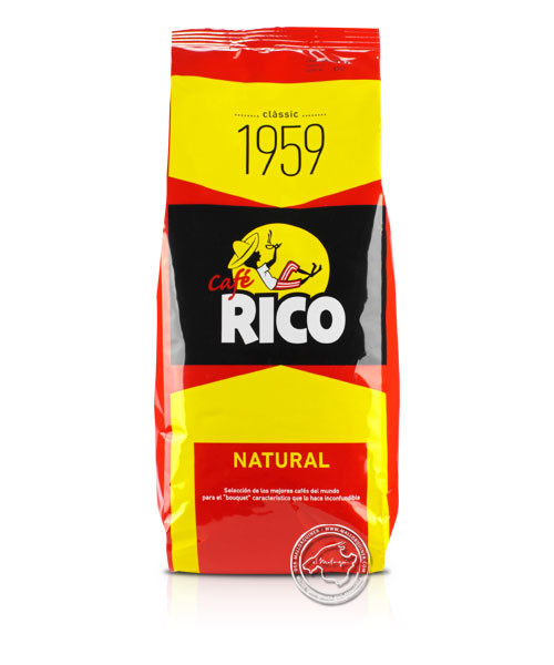 Cafe Rico Tueste Natural, Superior, 1 kg