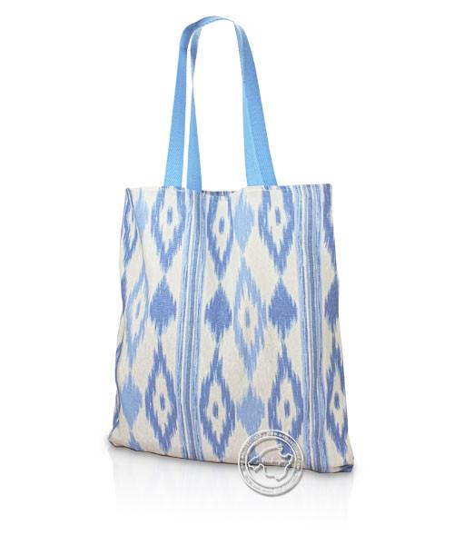 Stofftasche im Lengua-Muster blau 50 x 50 cm, je Stück
