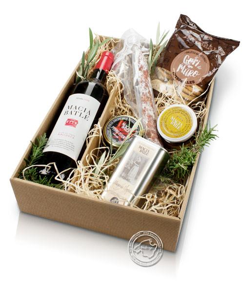 Genießerpaket Picknick Macia Batle Rotwein