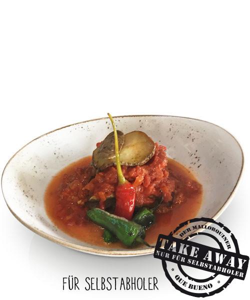 Tumbet - Mediterrane Lasagne mit Kartoffel, Aubergine, Zucchini und Tomatensoße