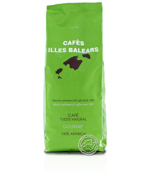 Cafes Illes Balears Tueste Natural Gourmet, 1-kg-Packung