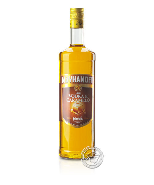 Licor Vodka & Caramelo, 18 % vol, 1,-l-Flasche