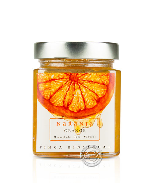 Confitura Biniagual Naranja, Orangenkonfitüre aus Mallorca, 314 g