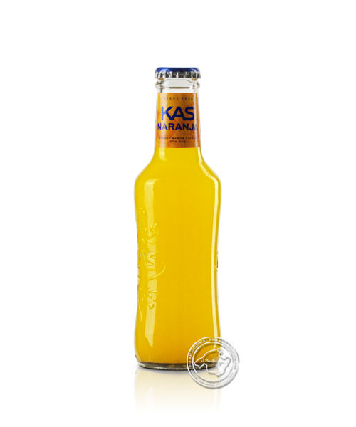 Kas Orange con Gas, 0,2-l-Flasche