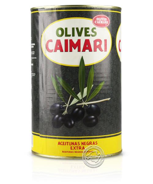 Caimari Olives Negres Lata, 4,1/2,5 kg