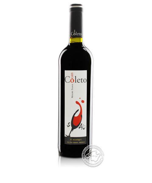 Ca´n Coleto Negre Suau, Vino Tinto 2019, 0,75-l-Flasche