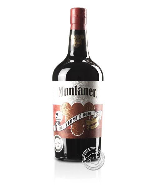 Vermut Muntaner Rojo, 18 %, Vino Tinto