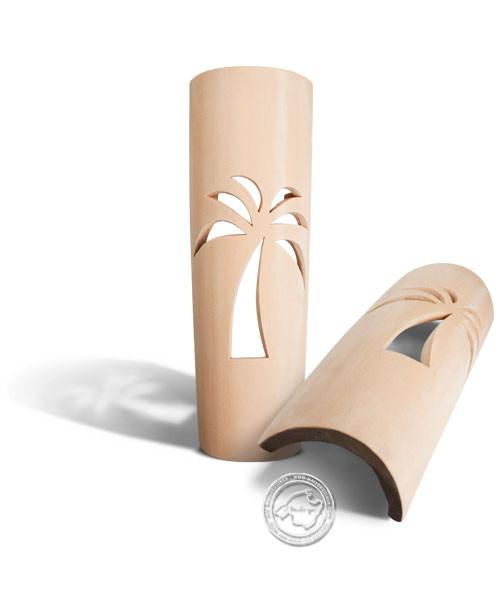 Keramik / Licht / Kunst Campos, Tejs Palmera - Dachschindelleuchte natur Palme, groß