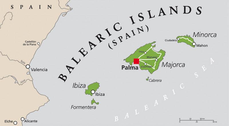 Ibiza Karte Umriss.Ibiza Anbaugebiet Weine Der Mallorquiner