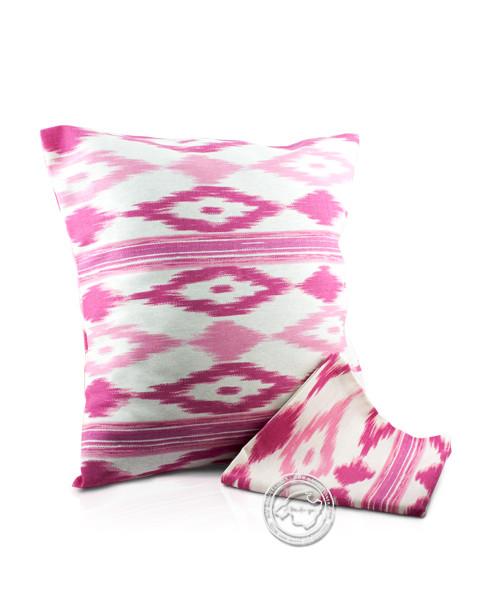 Funda llengues - Kissenüberzug im llengues-Muster, pink, 45x45 cm