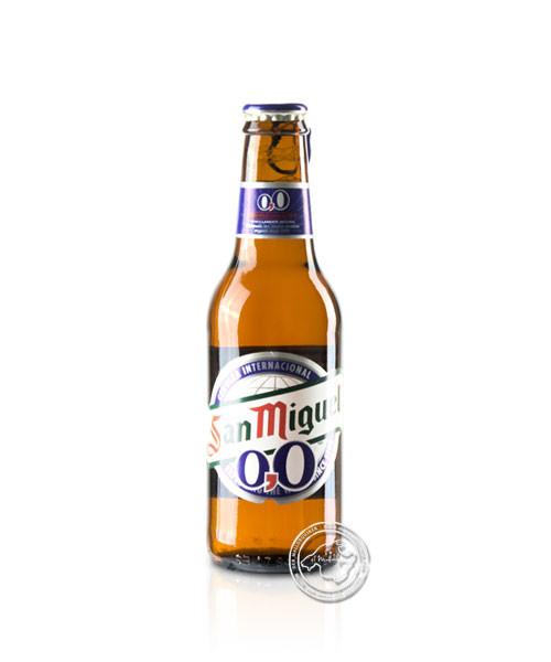 San Miquel 0,0% Alkoholfrei, San Miquel Bier, 0,25-l-Flasche