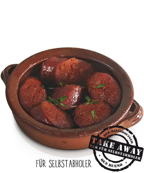 Chorizo/Miel o al Vino Blanco - Paprikawurst mit Honig oder Weisswein