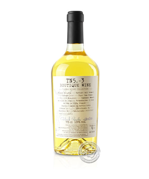 "Tianna Negre Col.leccio ""TN5.-2"" Orange Wine - The Sommelier Collec., Vino Blanco 2016"