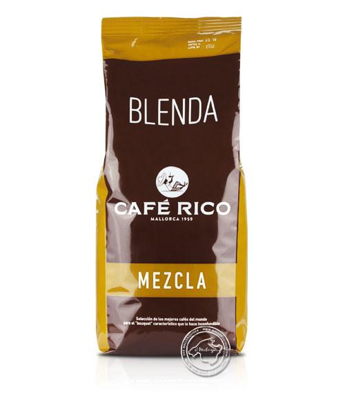 Cafe Rico Mezcla Torrefacto 80/20, Basico, 1 kg