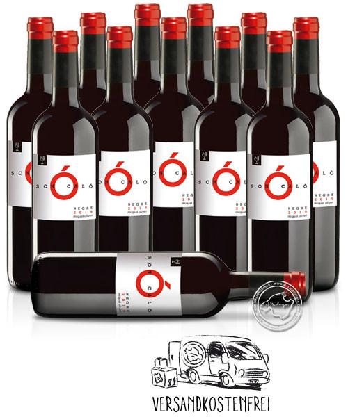 12'er Set Miquel Oliver Son Caló Negre, Vino Tinto 2020