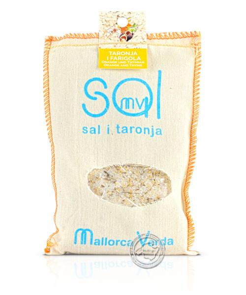 Mallorca Verda - Sal Marina taronja i farigola Es Trenc, 200 g