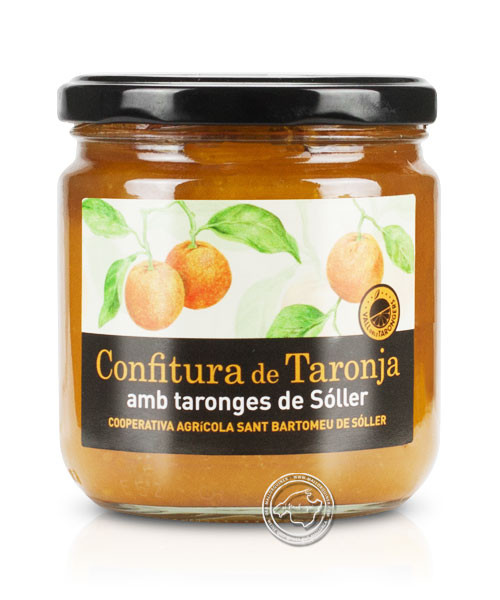 Confitura de Taronja, 400-g-Glas