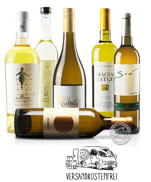 Probierpaket Fruchtig-Spritzige Weißweine