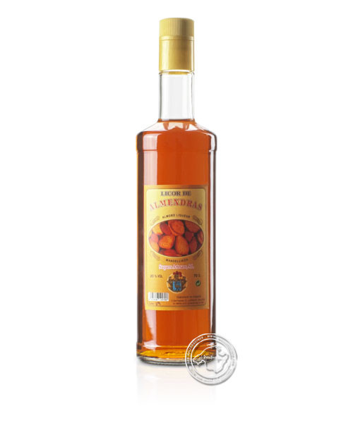 Licor de almendra, 20 %, 0,7-l-Flasche