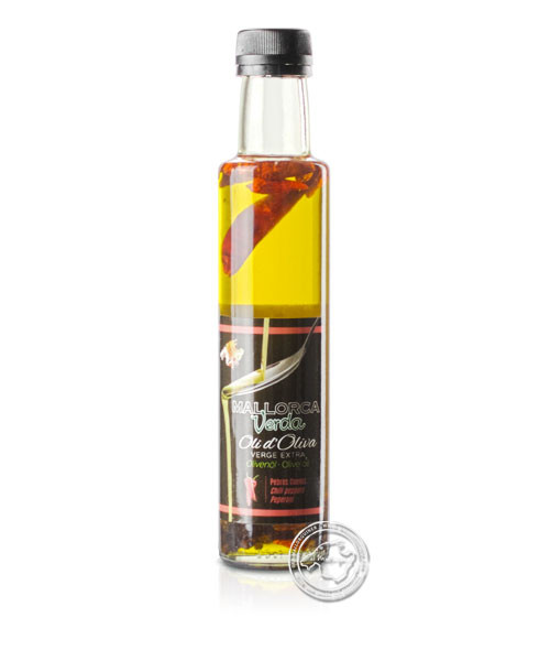 Oli pebre coents, 0,2-l-Flasche