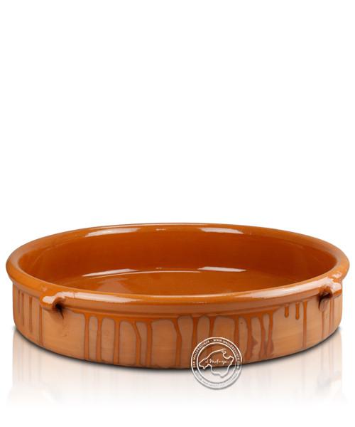 Keramik-Schale halblasiert 40 cm, je Stück