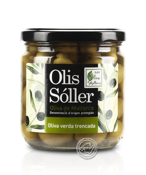 Cooperativa Soller Olives Verdes Trencades, 330/200 g
