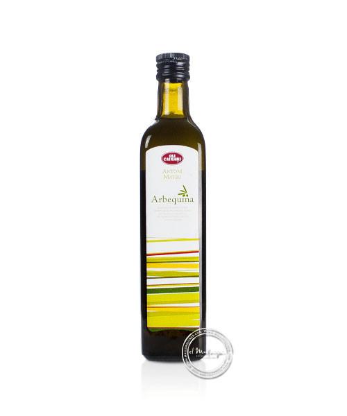 Oli d´oliva Antoni Mateu Arbequina, 0,5-l-Flasche