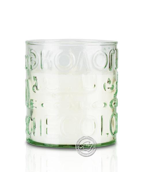 """Glashandwerk Lafiore """"Celas Aromaticas"""" - Duftkerzen-Glas mit Buchstaben, je Stück"""