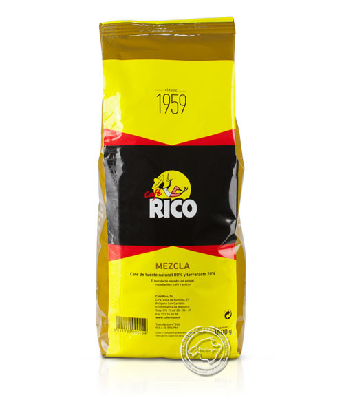 Cafe Rico Mezcla 80/20, Superior, 1 kg