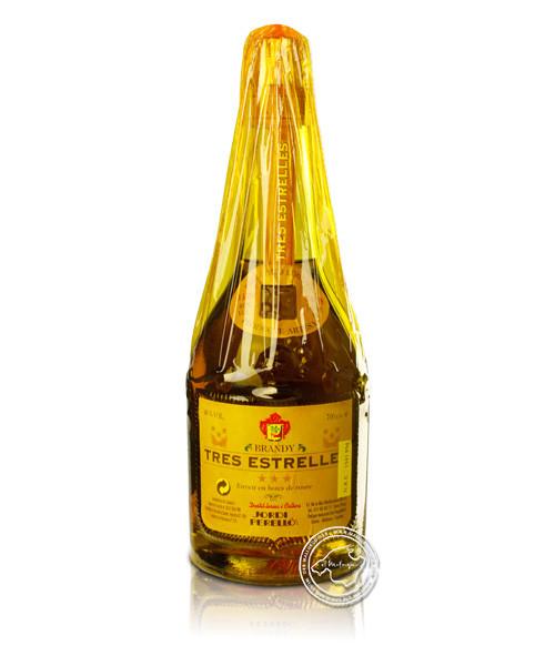 Perello Brandy Tres Estrellas, 40 % vol.