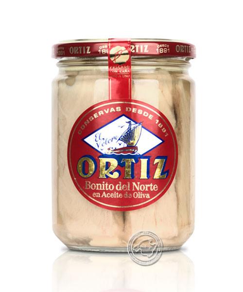Ortiz Bonito del Norte an aceite d´oliva, 260-g-Glas
