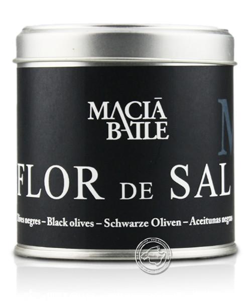 Macia Batle - Flor de Sal Olives Negres, 200 g