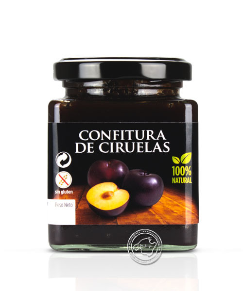 Confitura de Ciruela, Pflaumenkonfitüre, 240 g