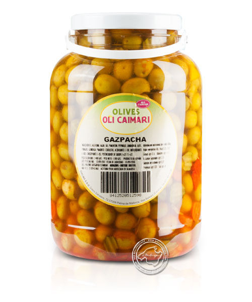 Gazpacha picante - Oliven nach Gazpacha-Art, 2,4-kg-Eimer