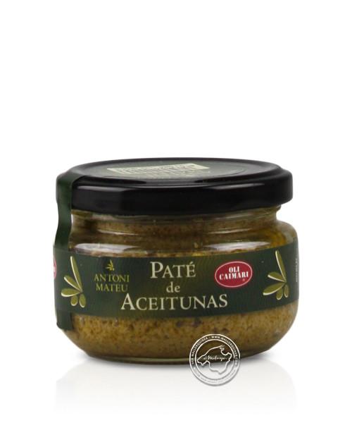 Paté artesà d´oliva verdes, 100-g-Glas