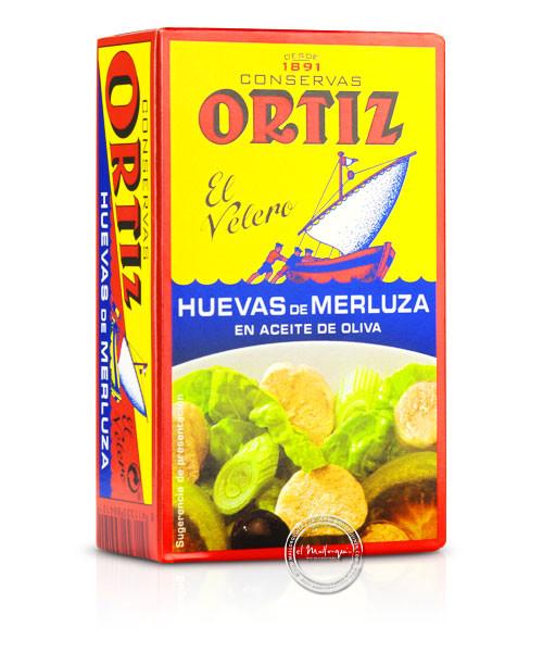 Ortiz Huevas de Merluza en Aceite d´oliva - Seehechtrogen in Olivenöl, 80/110 g