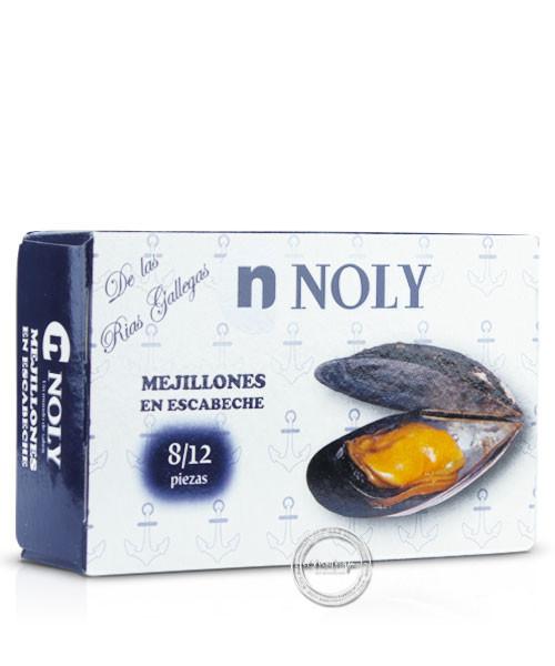 Noly Mejillones en escabeche - Miesmuschel in eingenem Saft, 69/112 g