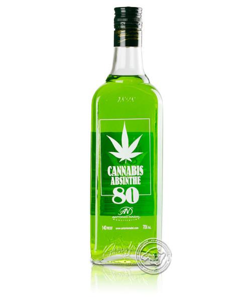 Túnel Cannabis Absinthe 80, 70 % vol.