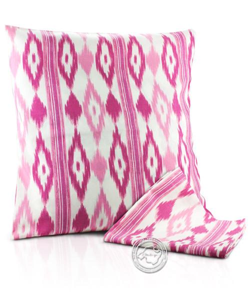 Funda llengues - Kissenüberzug im llengues-Muster, pink, 60x60 cm