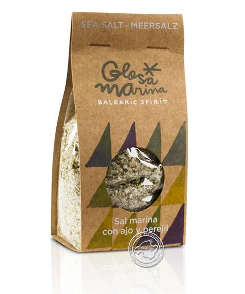 Glosa Marina Sal Marina con ajo y perejil, 200 g