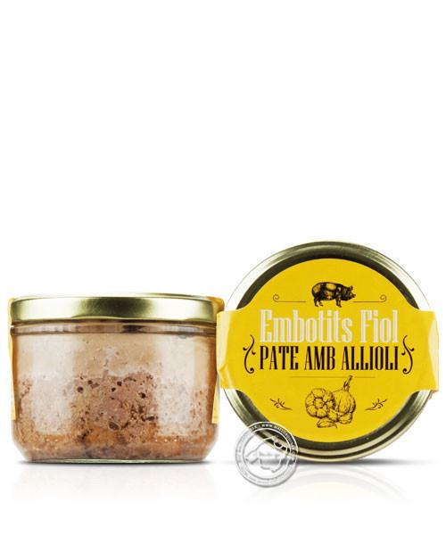 Embutidos Veny Pate amb All i Oli, 180 g