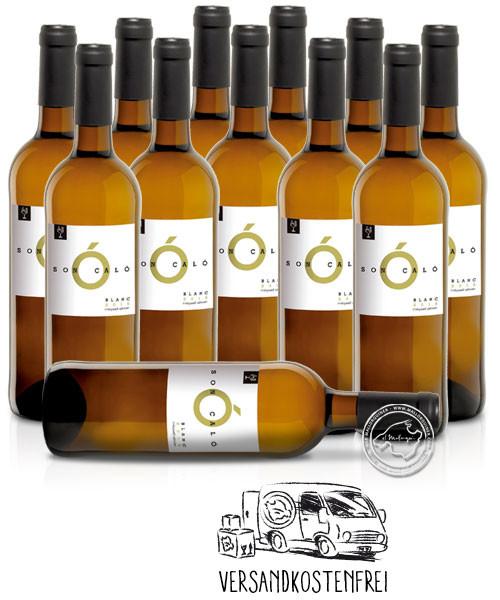 12'er Set Miquel Oliver Son Caló Blanc, Vino Blanco 2020