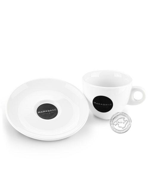 Taza de café marabans para café con leche, je Stück