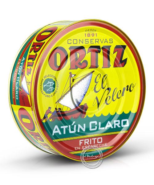 Ortiz Atún Claro en Escabeche - Thunfisch in eigenem Saft frittiert, 520/725 g