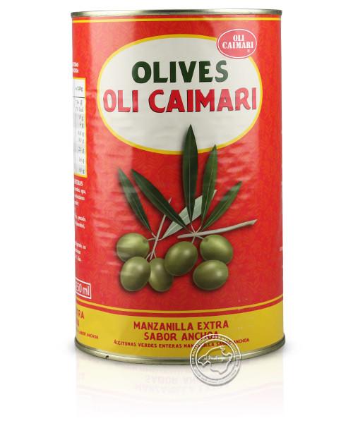 Caimari Manzanilla Extra Sabor Anchoa Lata, 4,1/2,5 kg