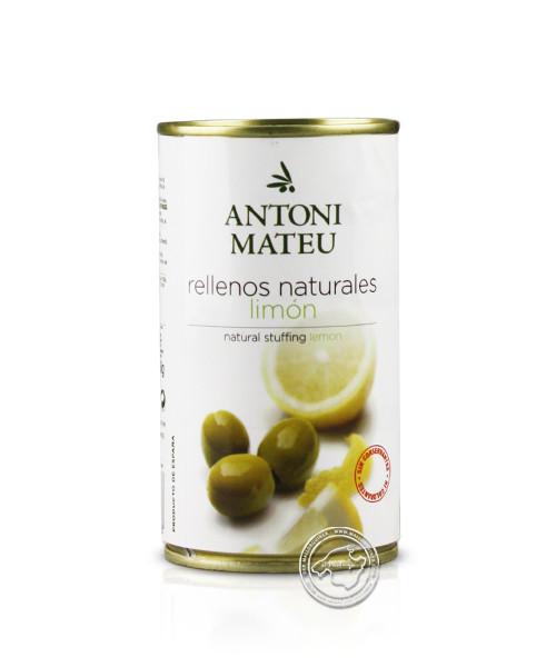 Olives Rellanas Sabor Limón Lata, 350-g-Dose