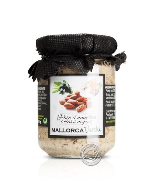Mallorca Verda Paté d´ametlles i olives negres, 135 g